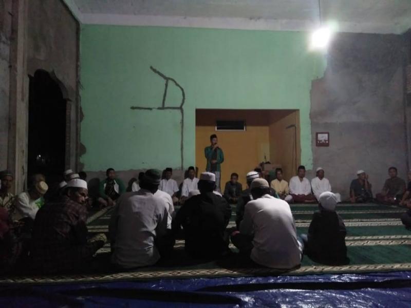 Doa bersama penyintas Bencana di Lampung Selatan