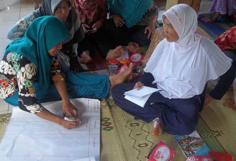 women farmer group during risk assessment workshop (2)