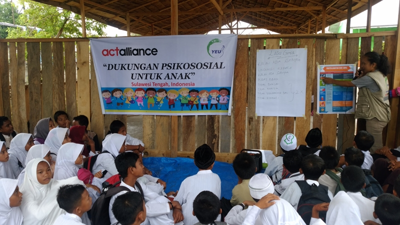 Psychosocial for elementary school students-Taipa (photo by Ardian)