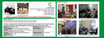 Laporan Situasi #4 Bencana Banjir dan Longsor Kabupaten Purworejo, Jawa Tengah