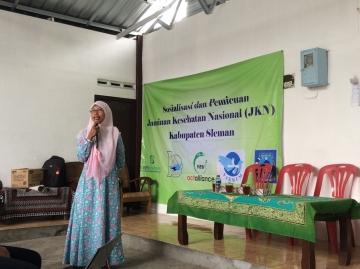 Sosialisasi Jaminan Kesehatan Nasional - Kartu Indonesia Sehat di Padukuhan Papringan