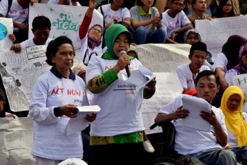 Pembacaan Komitmen dan Kontribusi Rakyat dalam AKSI NYATA untuk Pembangunan yang Berkelanjutan, Inklusif dan Tangguh