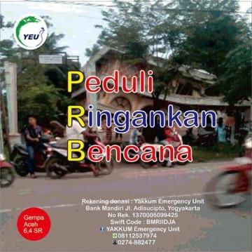 Situation Report #1 Gempa Pidie Jaya Aceh