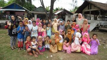Pelayanan Kemanusiaan YEU di Pidie Jaya, Aceh