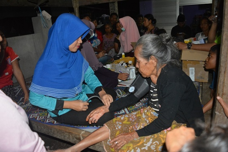 Lesson Learnt from Lombok :Distribution of the Humanitarian Assistance
