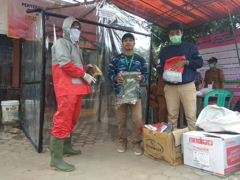 Campaign on the Prevention of COVID19 Transmission in South Lampung