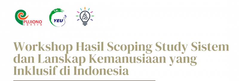 Indonesia's Steps Toward Inclusive Humanitarian Preparedness and Response